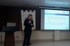 """Doctor Fernando Merchán presenta la investigación: """"Herramientas Acústicas Pioneras para el Monitoreo de Poblaciones de Manatíes en Changuinola."""