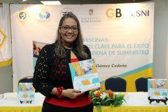 Dra. Milena Gómez, docente e investigadora de la Facultad de Ingeniería Industrial.