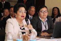 Le correspondió a la Rectora Encargada, de la Universidad Tecnológica de Panamá (UTP), Licda. Alma Urriola de Muñoz, presentar la Memoria.
