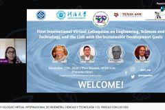 Autoridades de la UTP participan del Coloquio Internacional.