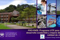 UTP realiza Lanzamiento del Programa Pro País