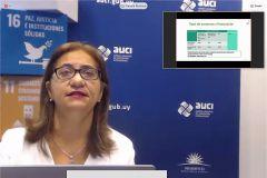 Claudia Romano, Coordinadora de la Red LAC NCP