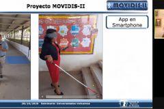 Dr. Héctor Montes de la UTP, presentó proyecto para ayudar en la movilización de personas con discapacidad visual, en el transporte público de panameño.