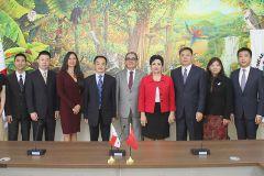 Una delegación de China, liderada por su Viceministro de Educación visita  la UTP.