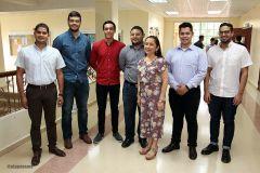 Estudiantes del Centro Regional de Chiriquí y tutores del programa de Movilidad Internacional 2019.