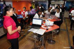 Mujeres del Programa CAPTA de la Fundación Calicanto, se capacitan en la UTP.