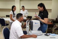 Alrededor de 60 trabajadores de la UTP participaron en la jornada de salud.