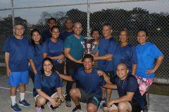 Deportes resultó campeón del campeonato interno de voleibol mixto, administrativo, docente e investigadores de la UTP.