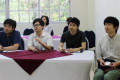 Estudiantes de la Universidad de Chiba en la UTP.