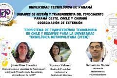 Actividad organizada por la Dirección de Gestión y Transferencia del Conocimiento de la UTP.