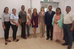 Durante su visita la Dra. Straujuma se reunió con autoridades y docentes de la UTP.