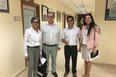 La Dra. Vanita Misquita, Directora de Programas Extranjeros estuvo de visita en la UTP.