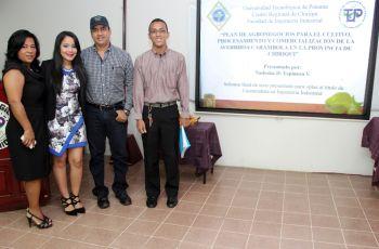 Estudiantes que realizaron la sustentación de su trabajo de grado.