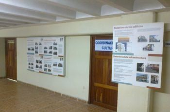 Exposición de Carteles el Centro Histórico de Colón, Patrimonio Histórico.