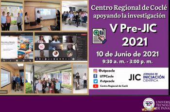 Quinta Pre-Jornada de Iniciación Científica 2021