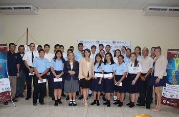Estudiantes seleccionados para el Campamento Tecnológico a realizarse en la UTP - Azuero.