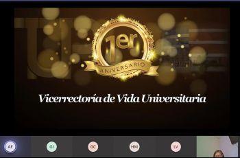 Primer Aniversario de la Vicerrectoría de Vida Universitaria de la UTP.