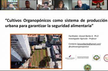 El evento busca impulsar los cultivos organopónicoscomo sistemaalternativo de bajo costo y de fácil desarrollo.