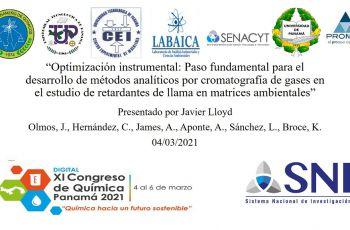Participación de la UTP en el XI Congreso Nacional de Química Panamá