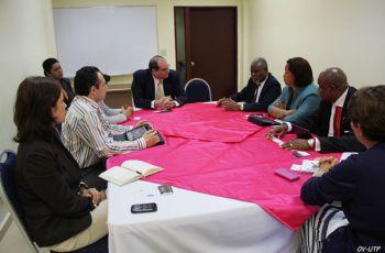UTECH, realizó una visita a la UTP para fortalecer relaciones