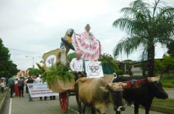Presentación de la UTP en Fiesta de Fiestas 2012.
