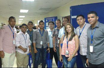 Docentes y Estudiantes de UTP Azuero, en el V Congreso Nacional.