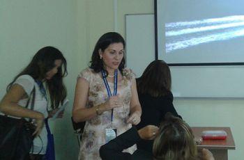 Licda. Luiyiana Pérez presenta Resumen de su Anteproyecto.