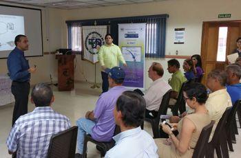 Presentación del Proyecto MOVIDIS, por parte del Ingeniero José Muñoz.
