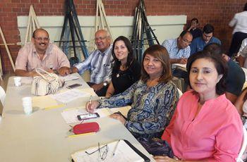 Docentes e Investigadores del Centro Regional de Azuero presentes en Taller.
