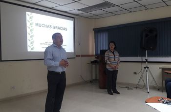 Presentación, por parte del Centro de Producción e Investigaciones Agroindustriales (CEPIA).