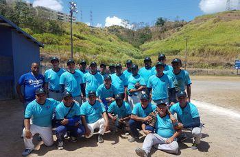 Equipo de Softball Masculino de UTP - Azuero Campeón Nacional 2017.