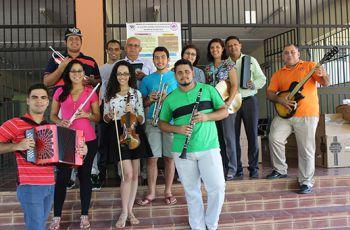 Sede Regional de Azuero recibe Instrumentos Musicales para Orquesta.