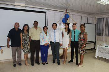 Autoridades, Jurado y Estudiantes Participantes del Concurso de Oratoria.