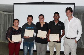 Estudiantes del Centro Regional de Azuero participan del Taller Intensivo de Conceptualización.