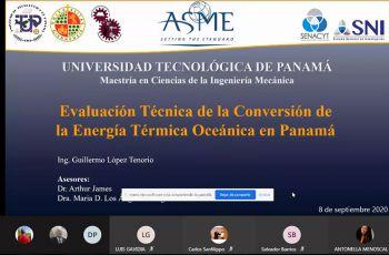 Investigadores de la UTP y Universidad de Jaén, España evalúan Escenario Oceánico de Panamá