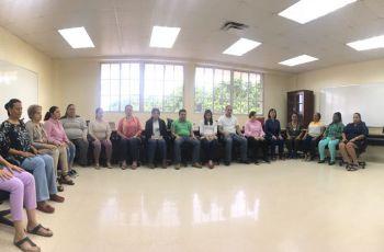 Expositor y participantes del Seminario Mindfulness.