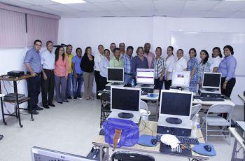 Capacitación sobre Sitio web en Centros Regionales