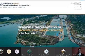 Plataforma para la Visualización y Simulación de Indicadores Globales Logísticos de Panamá.