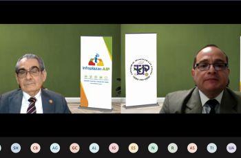 UTP firma convenio con INFOPLAZAS AIP