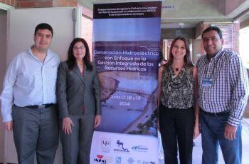 El Ing. Vega, participó como expositor internacional y presentó dos conferencias