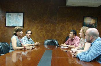 Autoridades de Civil se reúnen con directivos de ACRE.