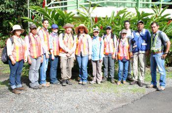 Los objetivos del taller fueron desarrollar capacidades nacionales en hidrologí.