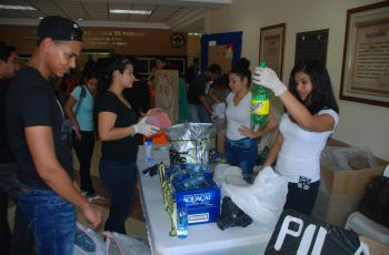 Estudiantes de Civil realizan ECO- DAY.