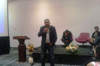 El Ing. David Vega, del CIHH participó en el foro del Día Mundial del Agua.
