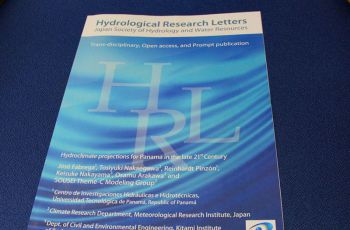 Ejemplar del Japan Society of Hydrology and Water Resources
