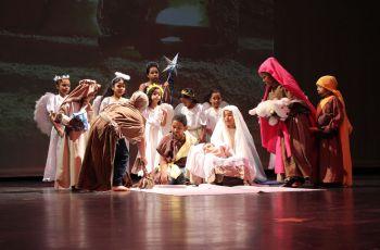 Obra de Teatro,. El Nacimiento del Niño  Dios.