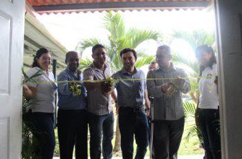 Organizadores y autoridades inauguraron el evento.
