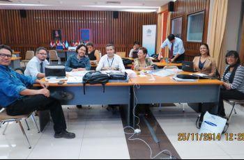 La reunión tuvo como objetivo el establecimiento de una Red Latinoamericana de C