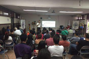 En la actividad participaron estudiantes y docentes del Centro Regional UTP.