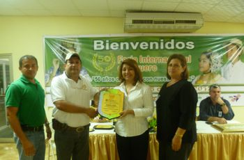 UTP recibe Primer Lugar en Feria Internacional de Azuero.